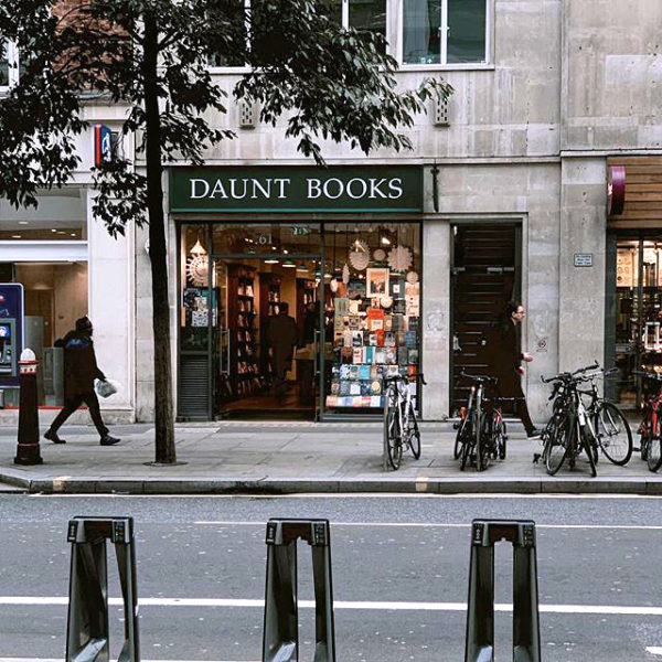 Daunt Books Cheapside