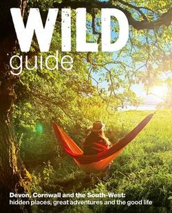 Wild Guide Devon, Cornwall and South West