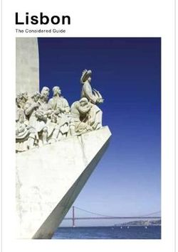 Lisbon : The Considered Guide