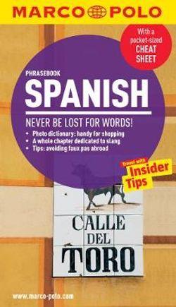 Marco Polo Spanish Phrasebook