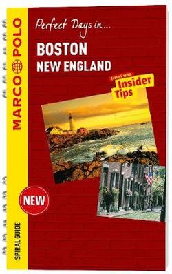 Marco Polo Boston & New England Spiral Guide