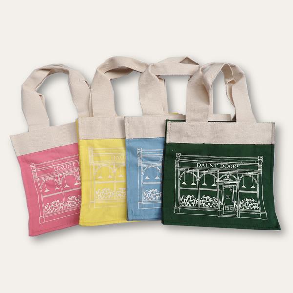 Daunt Books Children's Canvas Bags