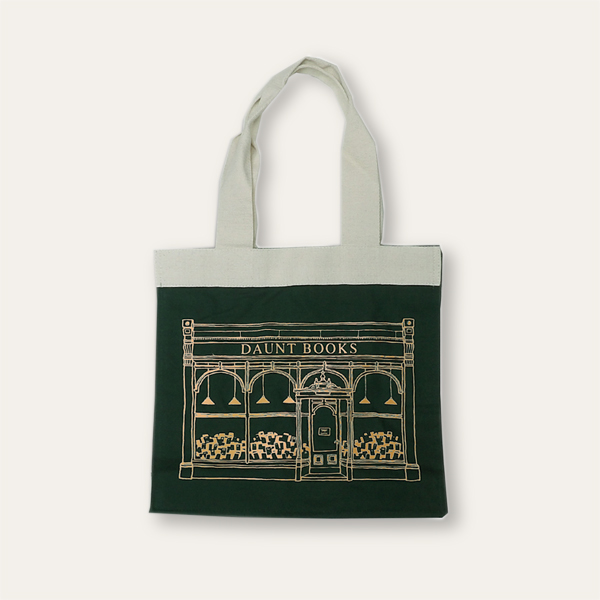 Special Edition Metallic Print Daunt Books Canvas Bag