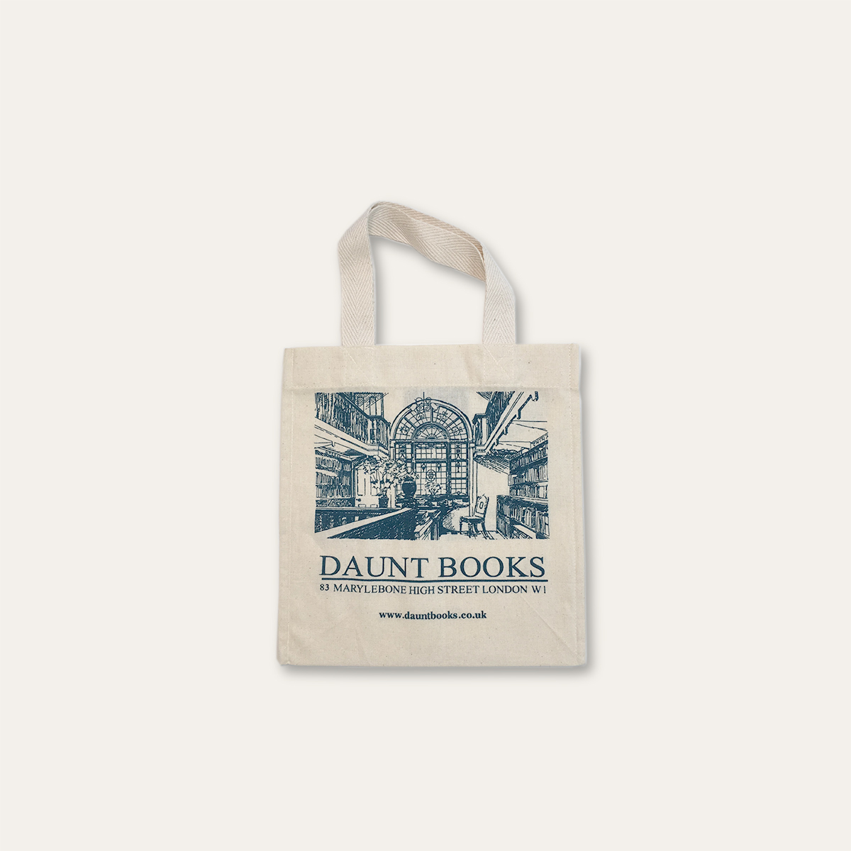 Mini Daunt Books Cotton Bag