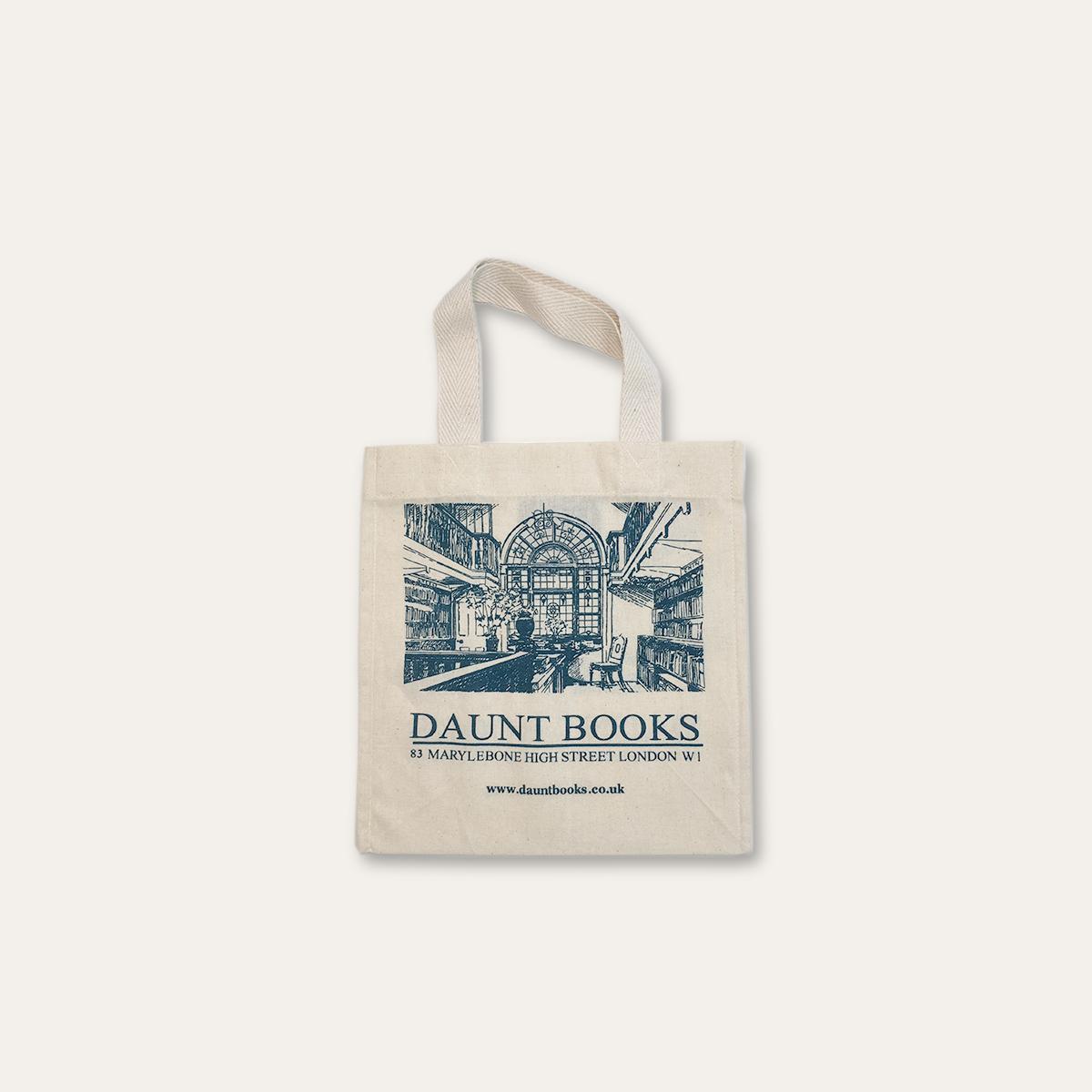 Mini Daunt Books Cotton Bag