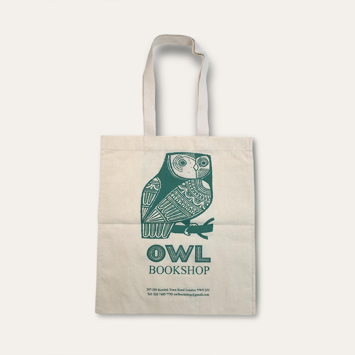 Owl Bookshop Bags