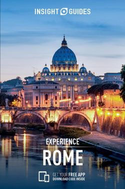 Experience Rome Insight Guide