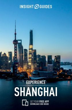 Experience Shanghai Insight Guide