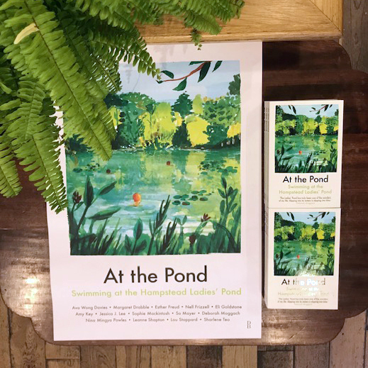 "Limited edition ""At The Pond"" poster"