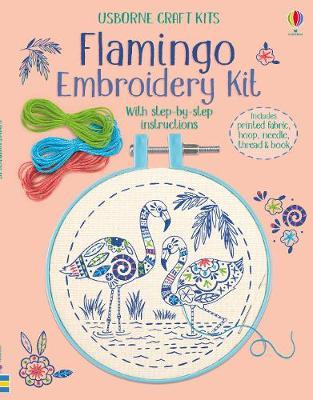 Flamingo Embroidery Kit