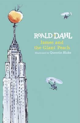 Roald Dahl | James and the Giant Peach (Hardback edition) | 9780141361598 | Daunt Books