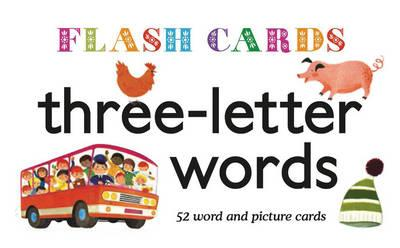 Three Letter Words Flashcards