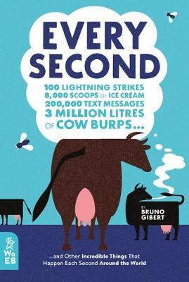 Every Second: 100 Lightning Strikes, 8000 Scoops of Ice Cream…