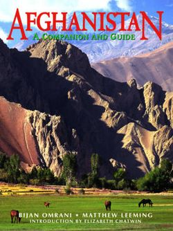 Odyssey Guides Afghanistan