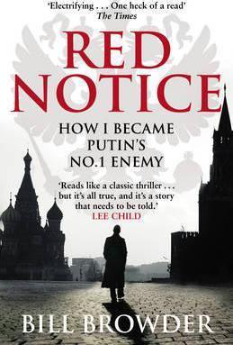 Bill Browder | Red Notive | 9780552170321 | Daunt Books