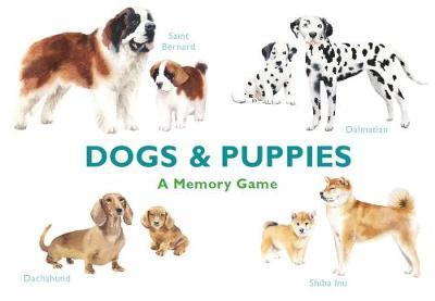 | Dogs and Puppes: A Memory Game | 9781786272737 | Daunt Books
