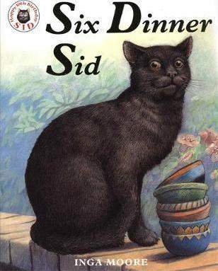 Inga Moore   Six Dinner Sid   9780340894118   Daunt Books