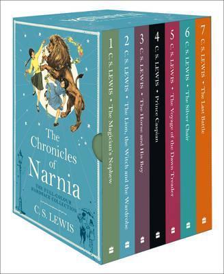 The Chronicles of Narnia Hardback Slipcased Set