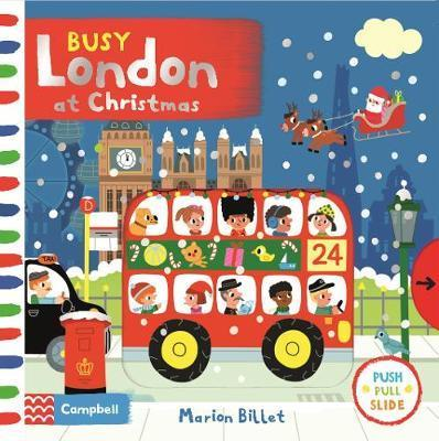 Busy London At Christmas (board book)