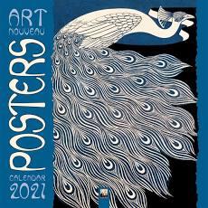 Art Nouveau Posters Wall Calendar 2021