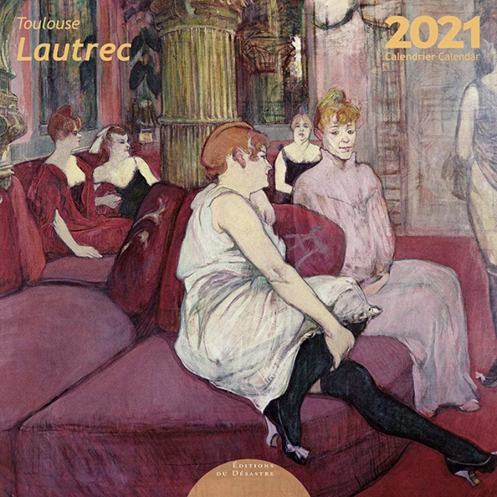 Toulouse Lautrec Wall Calendar 2021