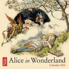 Alice Mini Wall Calendar 2021