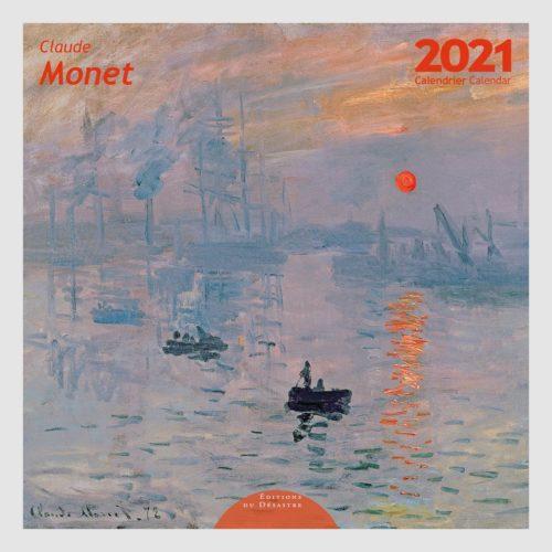 Claude Monet Wall Calendar 2021