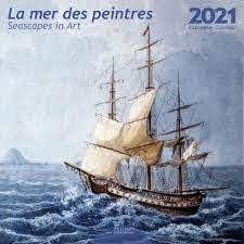 La Mer des Peintres Wall Calendar 2021