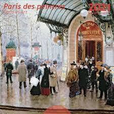 Paris Des Peintres Wall Clendar 2021