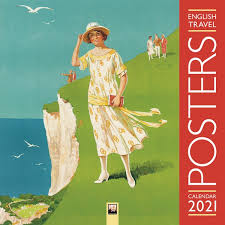 English Travel Posters Calendar 2021