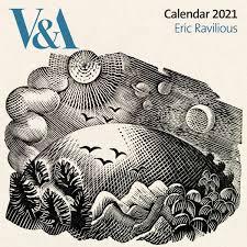 Eric Ravilious V&A Wall Calendar 2021