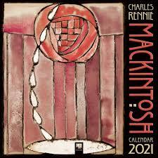 Charles Rennie Mackintosh Wall Calendar 2021