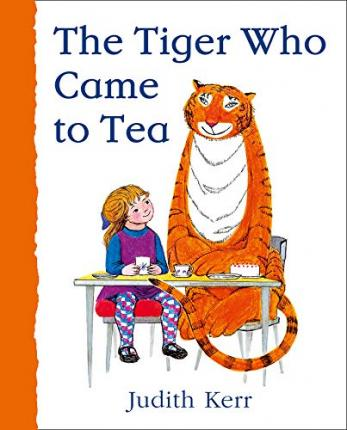 Judith Kerr | The Tiger Who Came to Tea (board book) | 9780008280581 | Daunt Books