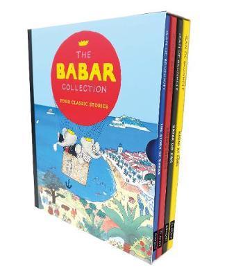 Jean de Brunhoff | Babar Slipcased Collection | 9781405299329 | Daunt Books
