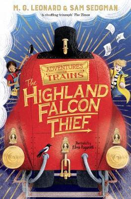 MG Leonard and Sam Sedgman | The Highland Falcon Thief | 9781529013061 | Daunt Books