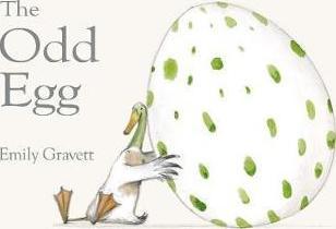 Emily Gravett | The Odd Egg | 9781509836239 | Daunt Books
