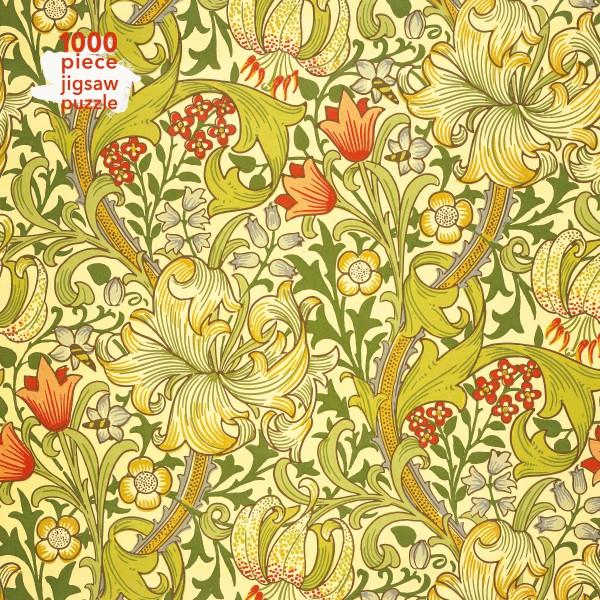 William Morris Golden Lily Jigsaw (1000 piece)