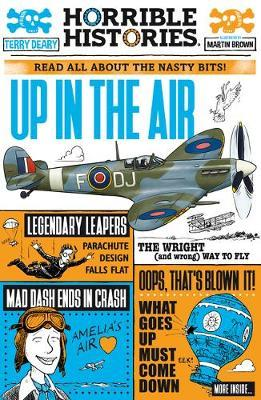 Terry Deary   Up in the Air   9780702305856   Daunt Books