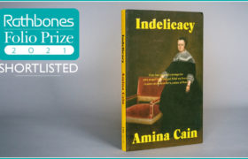 Indelicacy shortlisted for Rathbones Folio Prize