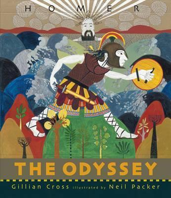 Gillian Cross and Neil Packer   The Odyssey   9781406345353   Daunt Books