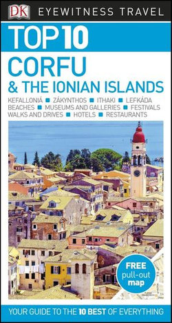 DK Top 10 Corfu & the Ionian Islands