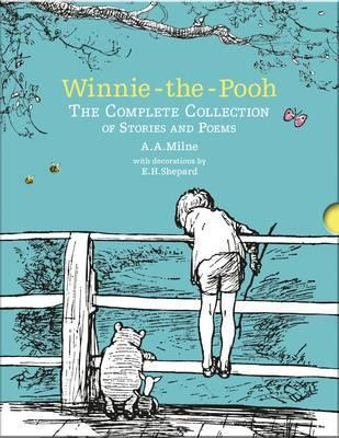 AA Milne | Winnie the Pooh: The Complete Colelction of Stories and Poems | 9781405284578 | Daunt Books