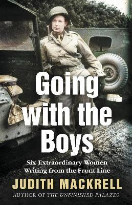 Judith Mackrell | Going With the Boys | 9781509882939 | Daunt Books