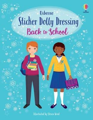 Sticker Dolly Dressing: Back To School