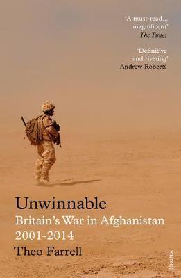 Theo Farrell | Unwinnable: Britain's War in Afghanistan | 9781784701321 | Daunt Books